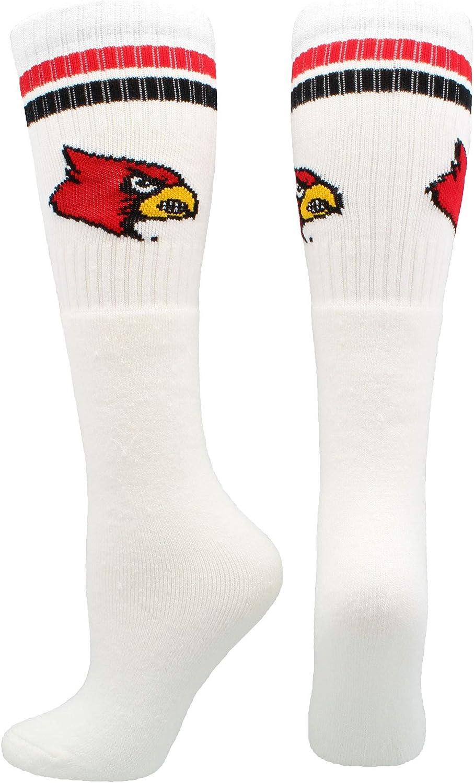Louisville Cardinals Socks Throwback Tube