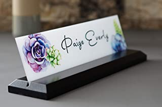 Desk Name Plate Office Accessories