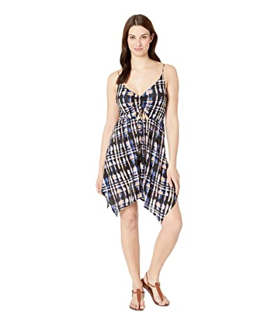 Lucky Brand Solstice Canyon Handkerchief Dress Cover-Up (Multi) Women