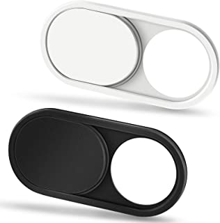 CloudValley Tapa Camara Portatil, 0.6mm Ultrafino Metal, Tapa Webcam para Portatil, MacBook Pro, MacBook Air, PC, Tableta,...