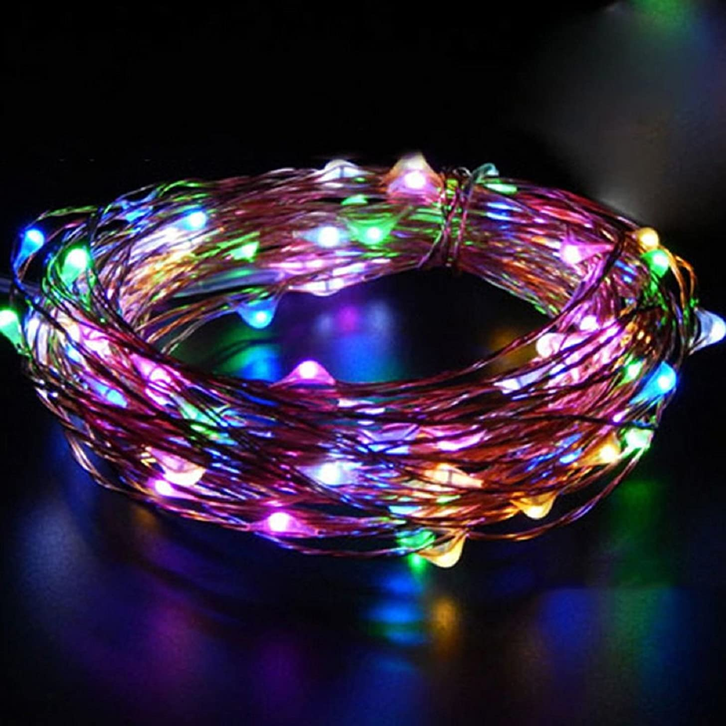 BCHZ 30 LED String Fairy Light Battery Operated 3M Ip65 Waterproof String Lamp Xmas Light Party Wedding Lamp (RGB)