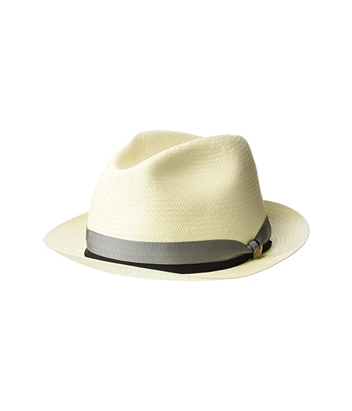 SCALA Shantung Fedora (Bleach) Caps