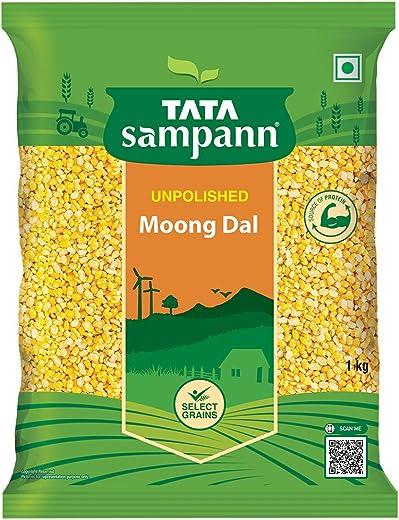 Tata SampannMoong Dal Split, 1kg 1
