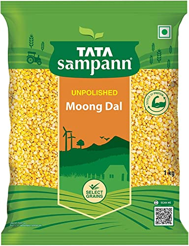 Tata Sampann Moong Dal Split 1kg
