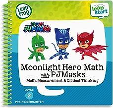 LeapFrog LeapStart 3D Moonlight Hero Math with PJ Masks Book