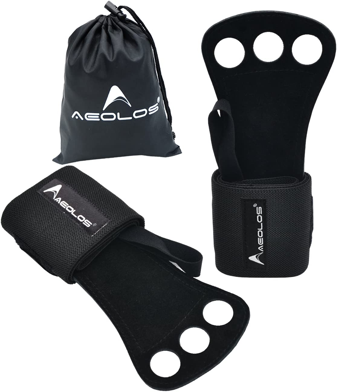 Gymnastics San Antonio Mall Hand Grips Gloves with Safety and trust Wrist -Perfect Support Wrap fo
