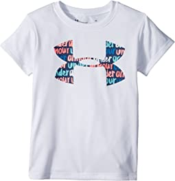 Under Armour Kids - Brushmark Big Logo Short Sleeve Tee (Toddler)