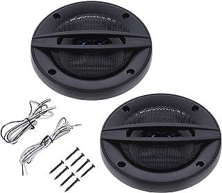 VICASKY 1 par Áudio Do Carro Chifre de Som Mini Amplificador de Som de Emergência Do de Auto Chifre Altifalante Profission...