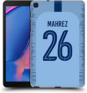 Official Manchester City Man City FC Riyad Mahrez 2018/19 Players Home Kit Group 1 Hard Back Case Compatible for Galaxy Tab A 8.0 & S Pen 2019