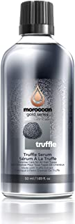 Moroccan Gold Series Black Truffle Serum – Anti Frizz Hair Serum for All Hair Types – Lightweight Hair Oil Enriched with Proteins and Amino Acids, Adds Shine, 1.69oz