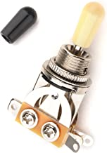 Musiclily Plastic 3 Way Pickup Selector Toggle Switch for Gibon Epiphone Les Paul Guitar Part, Cream Tip
