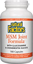 Natural Factors, MSM Joint Formula, 180 Capsules (180 Servings)
