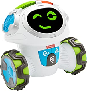 Fisher-Price FKC37 Think and Learn Teach-N-Tag Movi Activity, Mobile Kids Robot Educational Toy with Music and Lights Inte...