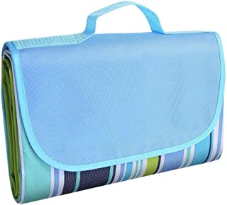 Picnic Blanket,Cool-Shop Portable Outdoor Camping Mat, Durable Oxford Foldable Waterproof Blanket, Large Size Lightweight ...