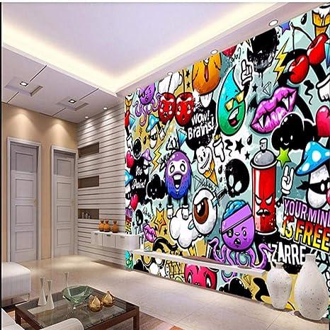 3D Shoe Paint Graffiti C51 Removable Wallpaper Self Adhesive Wallpaper Extra Large Peel /& Stick Wallpaper Wallpaper Mural AJ WALLPAPERSS