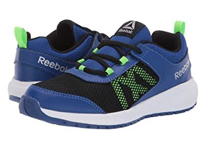 Reebok Kids Road Supreme (Little Kid/Big Kid) (Cobalt/Black/Green/Silver) Boys Shoes