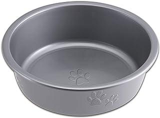 Loving Pets Dolce Luminoso Dog Bowl, Silver, Small