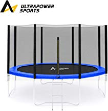 ULTRAPOWER SPORTS Red de Seguridad 244, 305, 366, 396, 430 cm Reemplazo de la Red del Cama elástica para 6, 8 Postes Rectos, Recinto de Malla Redonda ?Solo Red de Seguridad,no Incluido Postes Rectos?