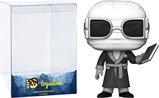 The Invisible Man (Walgreens Exc): Funko Pop! Movies Vinyl Figure Bundle with 1 Compatible 'ToysDiva' Graphic Protecto...