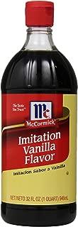 Best mccormick imitation vanilla flavor 32 ounce Reviews