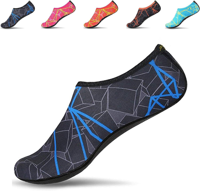 JACKSHIBO Men Women Quick-Dry OFFicial shop Water Shoes Skin Socks Barefo Aqua Ranking TOP1