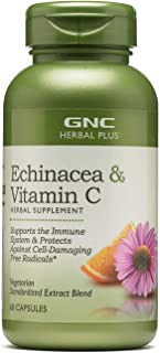 GNC Herbal Plus Echinacea & Vitamin C