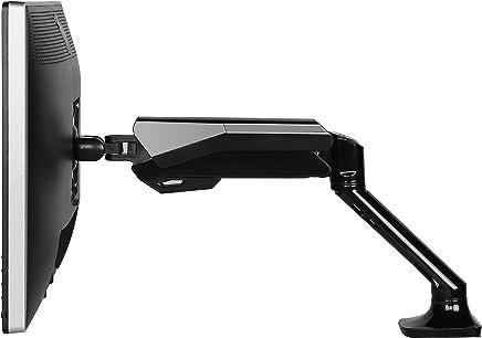 """FlexiSpot Soporte para monitor de computadora, resorte de gas, brazo LCD para visualización plana de 10"""" a 27"""" (F6A)"""