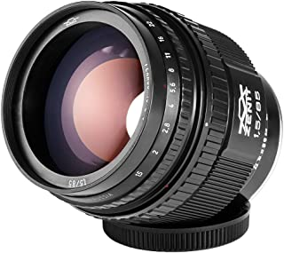 Russian Soviet Helios-40-2 85mm f/1.5 Best portrait manual lens for Micro 4/3 Olympus Cameras. NEW!
