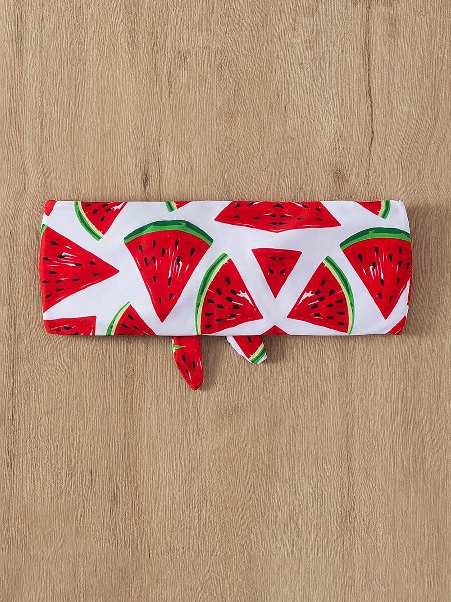 Austin Mall NICEAPR Bikini Watermelon Print Super-cheap Knot : Color Top Front M