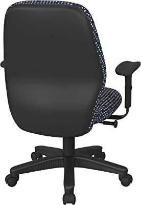 Amazon Com Euro Style Bungie Low Back Adjustable Office Chair Black Bungies With Graphite Black Frame Furniture Decor