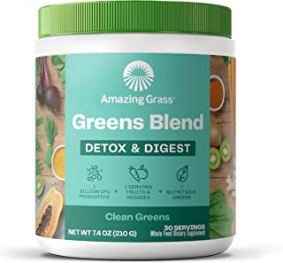 Amazing Grass Detox and Digest Powder, 240 grams