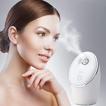 Spaire Facial Steamer Nano Ionic 90ML Face Sauna Spray Hot Mist Humidifier