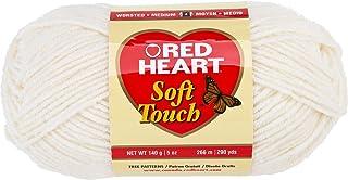 Coats Yarn Red Heart Soft Touch Yarn, Cream