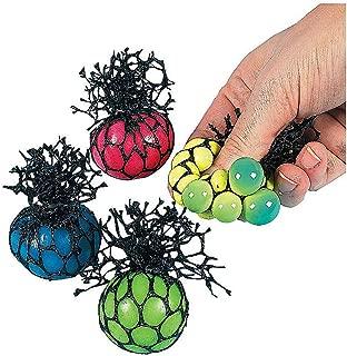 Fun Express - Mini Mesh Stress Balls (24un) - Toys - Value Toys - Sticky & Stretch Toys - 24 Pieces