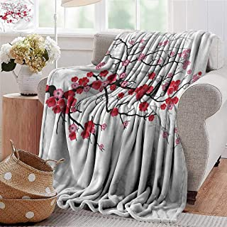 Xaviera Doherty Baby Blanket Nature,Blossoms Sakura Plant All Seasons Anti-Static Couch Blanket Travelling Camping Blanket 30