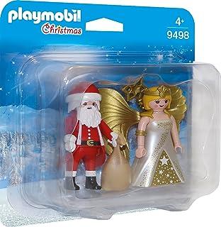 PLAYMOBIL 9498 Santa and Christmas Angel - NEW 2018