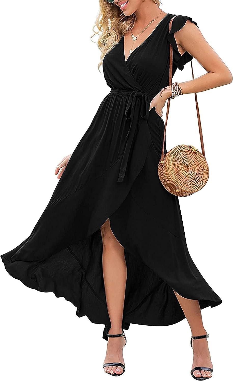 KEVENI Women's Summer Casual Dresses Beach Party Dress (NO.C)