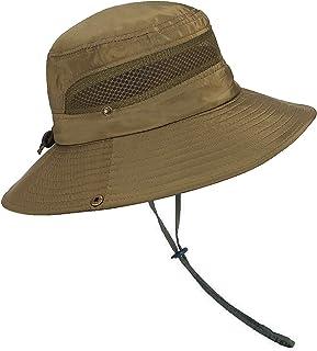 Sombrero Ancho Sombreros para el Sol Protección UV Sombreros de Pescador Acampar al Aire Libre Senderismo Viajes Sombrilla Sombrero de Verano Visor Plegable Gorras para Hombres Mujeres
