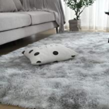 Extra Soft Luxury Fur Indoor Area Rug Fluffy Carpet Living Room Shaggy Nursery Rug Bedroom Dining Room Floor Mat Kids,4 by...