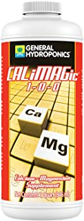 General Hydroponics CALiMAGic 1-0-0, Concentrated Blend of Calcium & Magnesium, Secondary Nutrient Deficiencies Helps Prev...