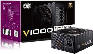 Cooler Master V Series V1000 12V 80 PLUS Gold Rated, Full Modular 1000W Power Supply   RS-A00-AFBA-G1