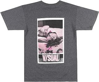 V/SUAL Photo Copy T-Shirt Mens Visual Van Styles Explicit Model TEE Charcoal