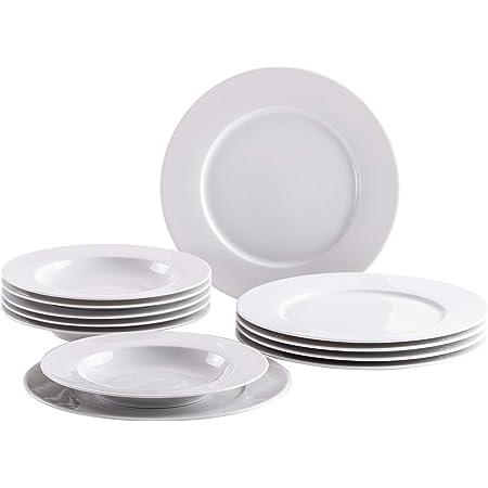 Kahla PRONTO Colore 1x Speiseteller weiß 27cm Essteller flach Teller rund Gastro
