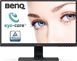 BenQ GW2480 Monitor Komputerowy, 24 Cale, Czarny