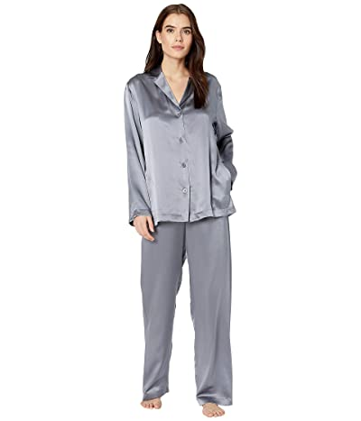 La Perla Silk Pajama (Silver) Women