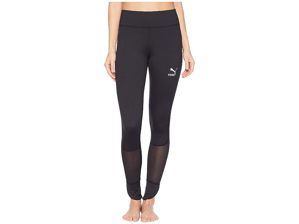 PUMA Scallop Leggings (PUMA Black) Women