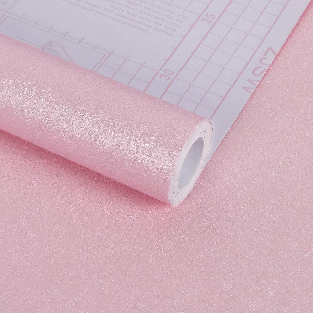 Melwod 2021 new Pink Contact Paper 17.71'' x Wallpap 118'' Peel Chicago Mall and Stick