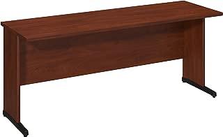 Bush Business Furniture Series C Elite 72W x 24D C-Leg Desk in Hansen Cherry