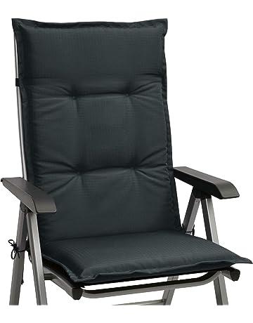 Cuscini per sedie a Sdraio per Interni allaperto Creacom Cuscini per sedie da Giardino Cuscini per sedie a Sdraio Cuscini per Patio con Luce Solare Cuscini per divani per sedie a Dondolo