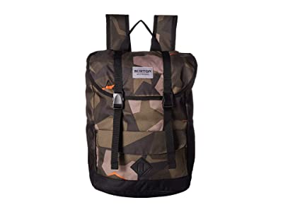 Burton Kids Outing Backpack (Youth) (Three Crowns Camo Print) Backpack Bags